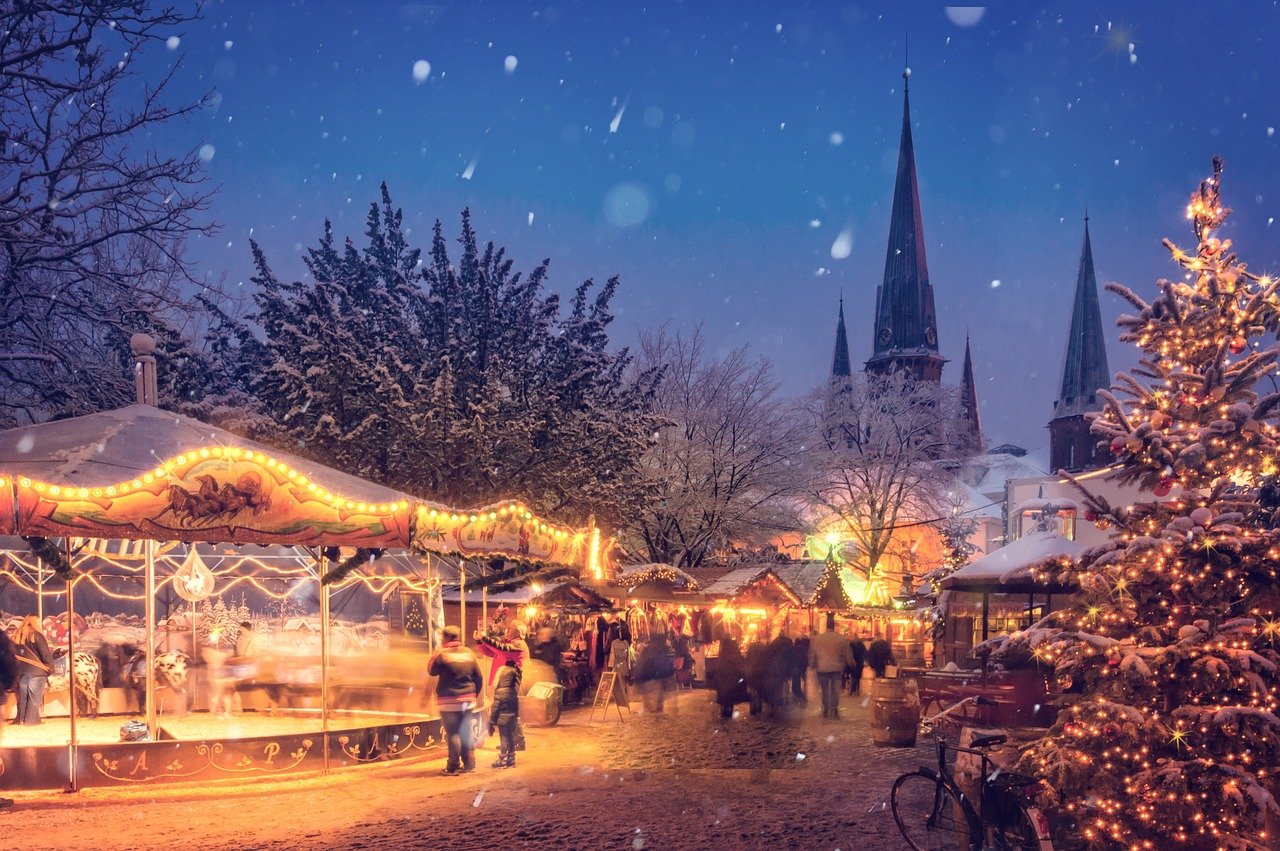 Les Décorations extérieures et illuminations de Noël
