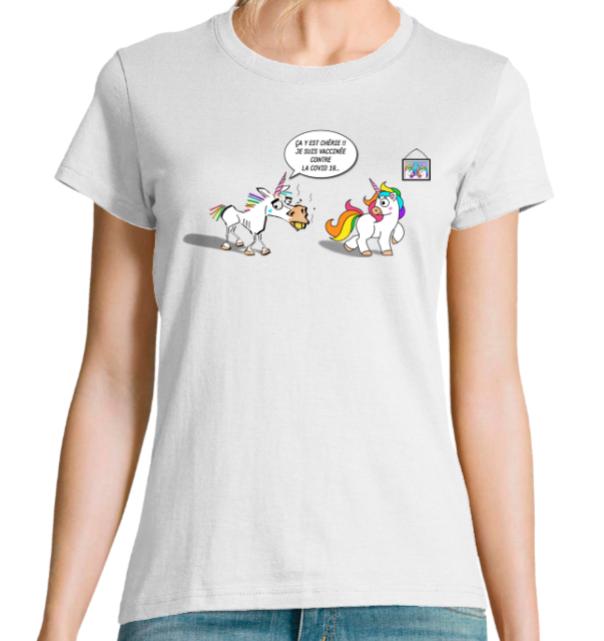 tee shirts licorne